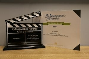 Videographer Excellence Award