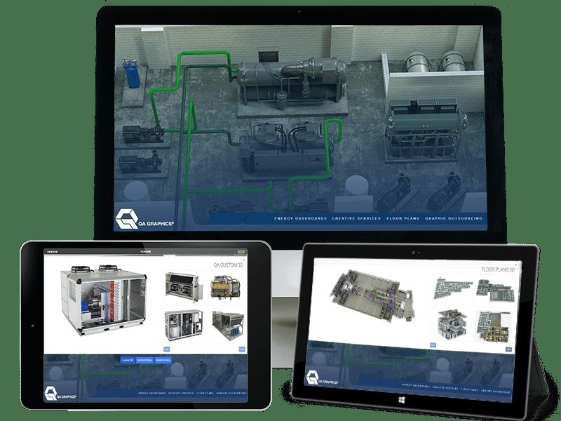 Interactive Sales Tool QA Graphics
